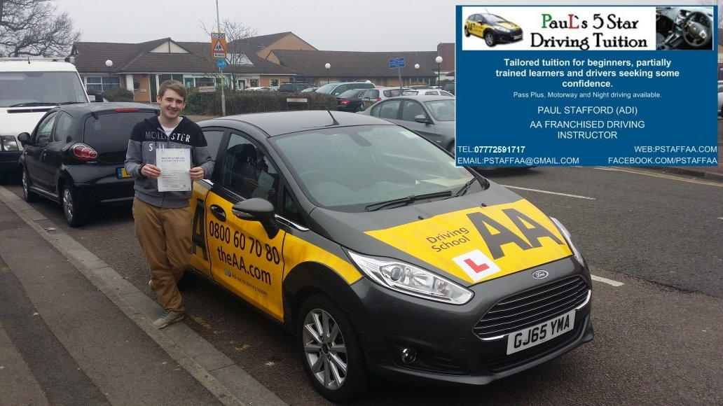 Test Pass Zero Faults Jake Stanley Gloucester Test Centre